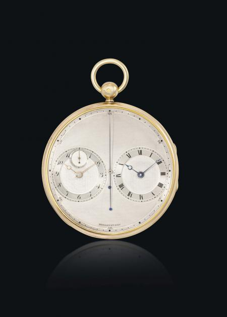 The Breguet n°2667 : a thin pocket watch from 1814 with two movements.