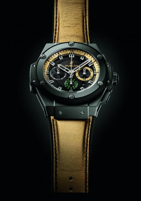 The King Power Usain Bolt : a limited edition of 250 pieces.