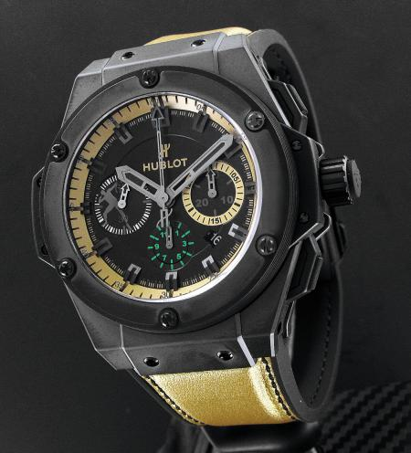 La King Power Usain Bolt : a chronograph for champion.