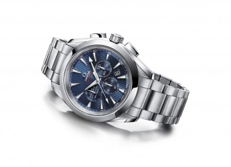 Omega Seamaster Aqua Terra Co-Axial Chronograph 'London 2012'.