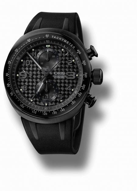 The Oris TT3 Chronograph Black.