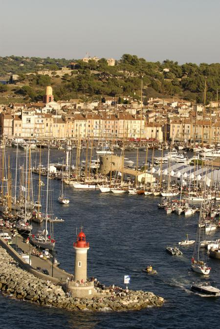 The preliminary race from Saint-Tropez (October 25th 2012) will allow accumulate points for the final standings. ©Nigel Pert
