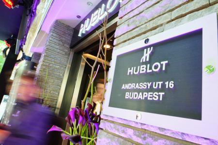 A prestigious location for the boutique Hublot in Budapest…
