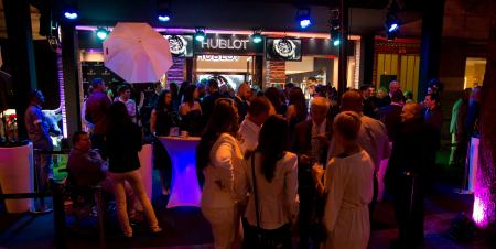 Inauguration of the Hublot boutique in Budapest.