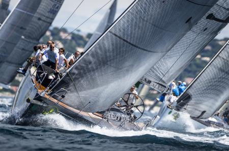 Giraglia Rolex Cup 2012 - Competition in the Bay of St. Tropez