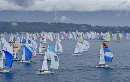 The Bol d'Or Mirabaud : the world's largest regatta in enclosed waters.©Bol d'Or Mirabaud_Corum 2011_Loris v Siebenthal