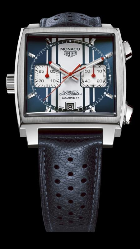 The new Monaco Heuer Steve McQueen edition.