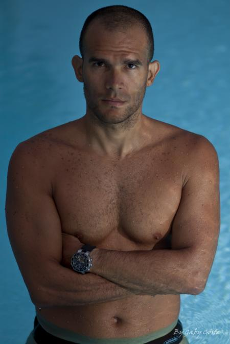 Carlos Coste, world record apnea diver.