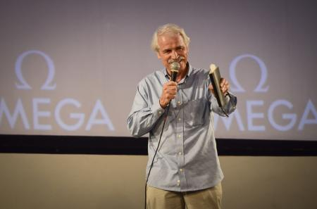 Yann Arthus-Bertrand, co-director of the film Planet Ocean, to the premiere in Rio.