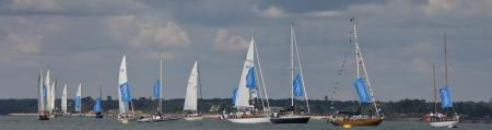 The 2012 edition of Panerai British Classic Week : a record entry of more than 70 yachts.