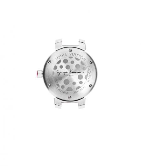 Louis Vuitton - Tambour Watch Yayoi Kusama Limited Edition - Backside view