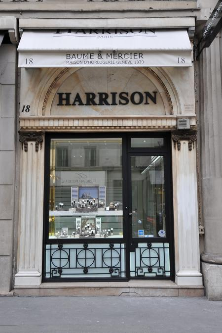 Harrison rue de la Paix in Paris.