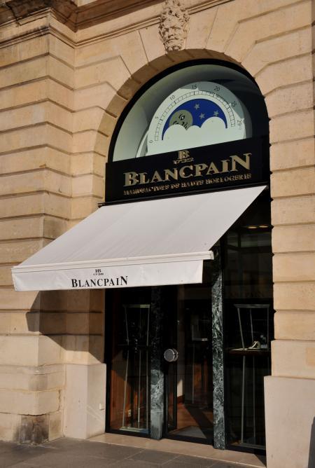 Blancpain Boutique on the Place Vendôme, Paris