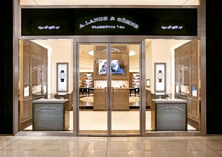 The new A.Lange & Söhne boutique in Dubaï.