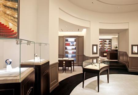 A.Lange & Söhne interior boutique in Dubail.