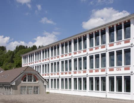 The central building of the Manufacture Zenith renovated.