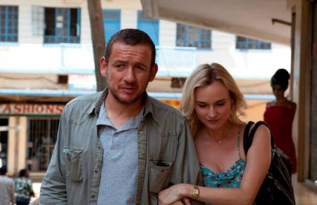 Dany Boon and Diane Kruger in 'Un plan parfait'.