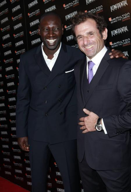 Omar Sy and Nicolas Ivano.©Hamilton International Ltd
