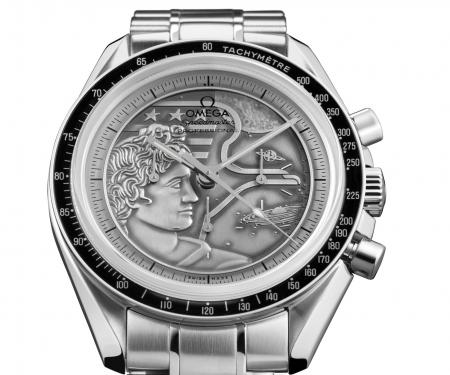 "The Omega Speedmaster Moonwatch ""Apollo XVII"" 40th Anniversary : an edition limited to 1972 pieces."