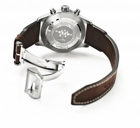 IWC - Pilot's Watch Chronograph Edition Antoine de Saint Exupéry - Backside view