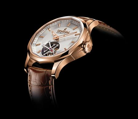 The Admiral's Cup Legend 42 Tourbillon Micro-Rotor : profil.