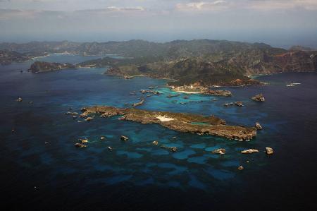 The Ogasawara islands in Japan.
