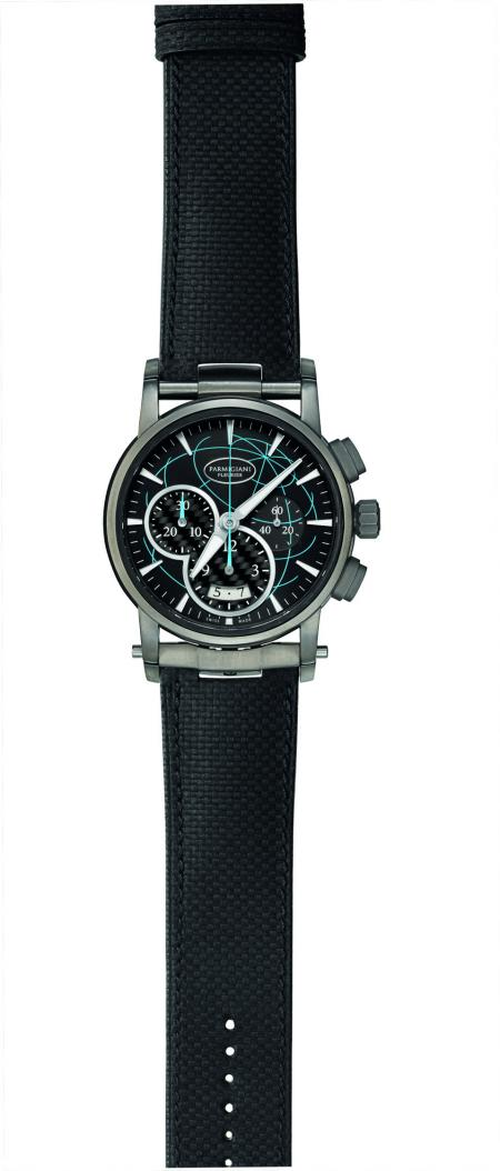 The Parmigiani Fleurier Transforma Rivages Chronograph is gone with Bernard Stamm for the Vendée Globe 2012.