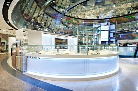 The Boucheron corner within the Galeries Lafayette of Berlin.