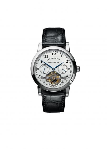 This Tourbillon 'Pour le Mérite' in platinum reached more than three times its original selling price.