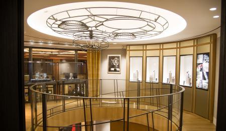 Jaeger-LeCoultre Place Vendôme boutique. ©Getty