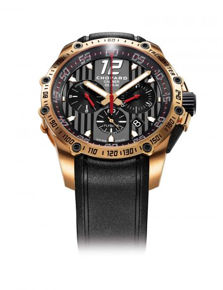 The Chopard Superfast Chrono.