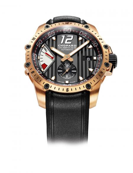 The Chopard Superfast Power Control.