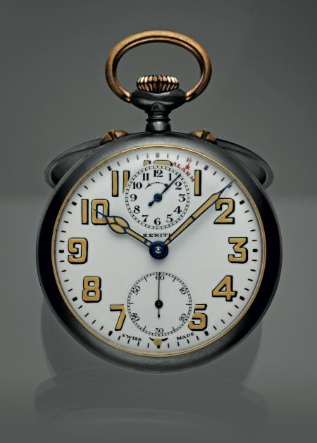 Zenith Alarm Pocket-watch.