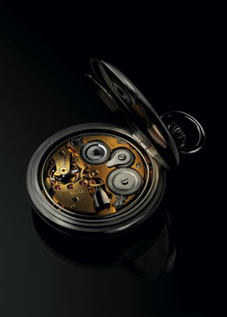 Zenith Alarm Pocket-watch - Movement