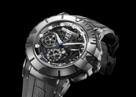 The Ocean Sport Chronograph : a Harry Winston's watche model.