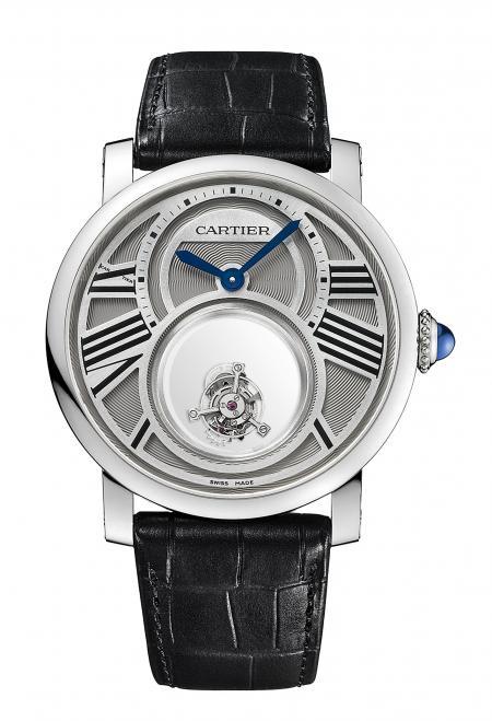 Rotonde de Cartier Double Mystery Tourbillon Watch