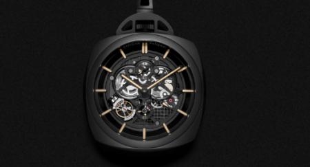 Panerai - Pocket Watch Tourbillon GMT Ceramica 59 mm