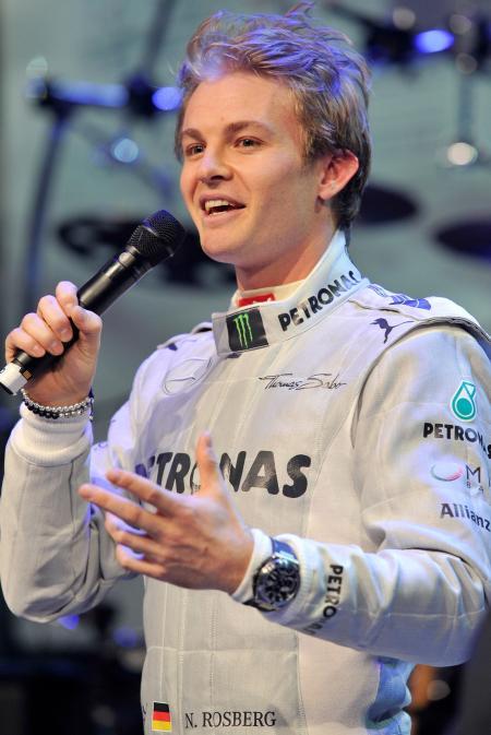 Nico Rosberg. ©Photopress/IWC
