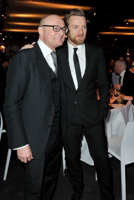 Georges Kern and Ewan McGregor. ©Photopress/IWC