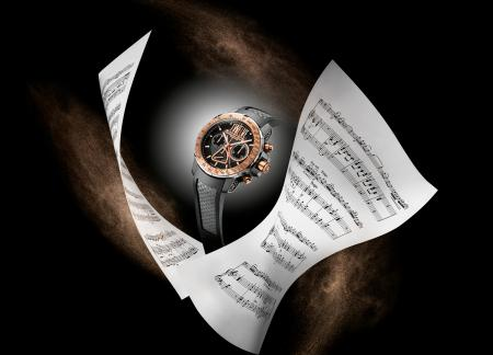 The Raymond Weil nabucco Cuore Caldo Twelve is a limited edition of 76 pieces.