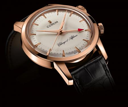 Corum - Chargé d'Affaires in red gold : a limited edition of 150 pieces.