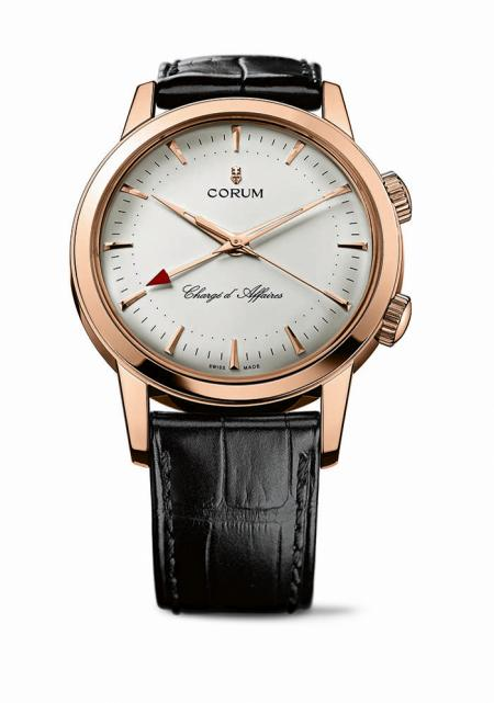 Corum - Chargé d'Affaires in red gold.