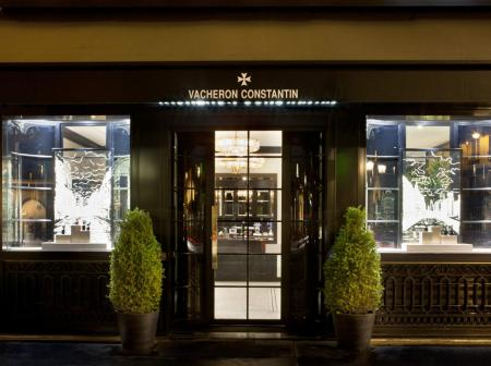 Vacheron Constantin new boutique in Paris