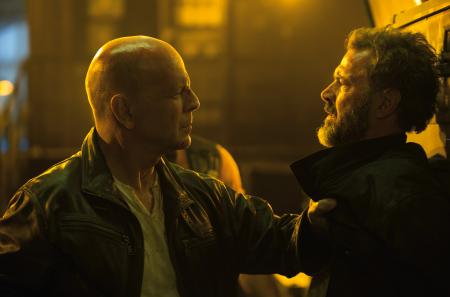 Bruce Willis in a Good Day to Die Hard.