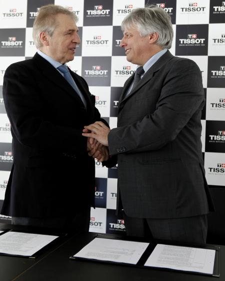 The long-term partnership between Tissot and la FISU is sealed…