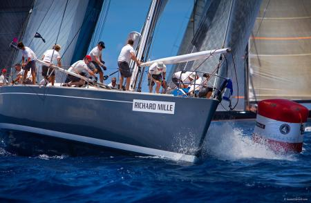The Voiles de Saint Barth : 8 to 13 april 2013.