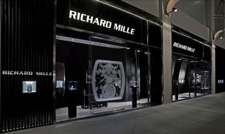 Richard Mille boutique in Singapore.