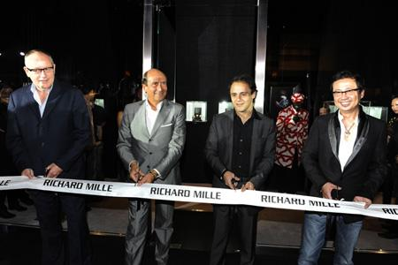 Inauguration of the Richard Mille boutique in Singapore.
