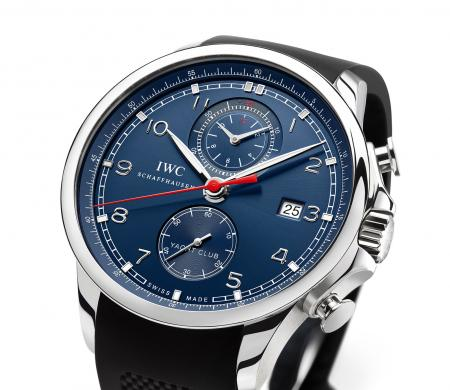 The Portuguese Yacht Club Chronograph Edition Laureus Sport for Good Foundation : a limited edition to 1,000 pieces.