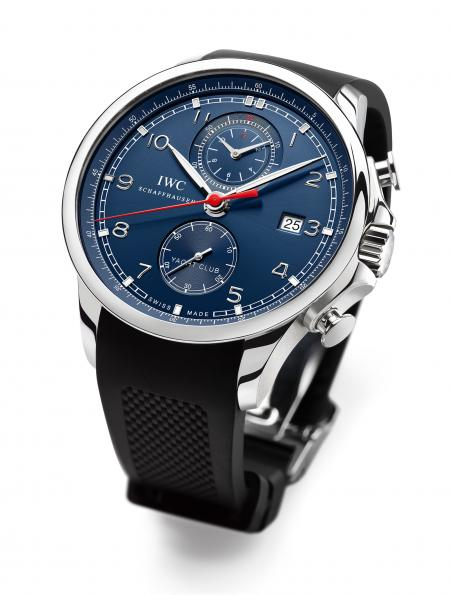 The Portuguese Yacht Club Chronograph Edition Laureus Sport for Good Foundation.